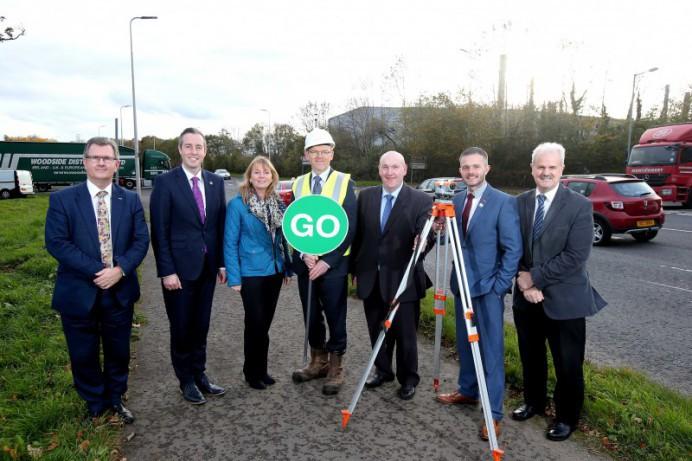 Brokerstown Road Junction Improvements