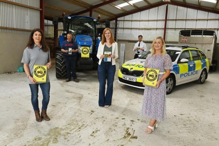 Lisburn & Castlereagh PCSP and PSNI launch a Tracker Initiative