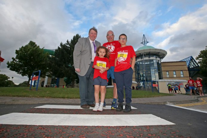 New Pedestrian Crossing Commended