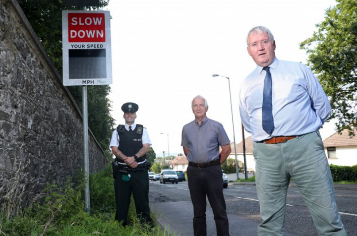 Six speed indicator signs installed at Community Concern sites