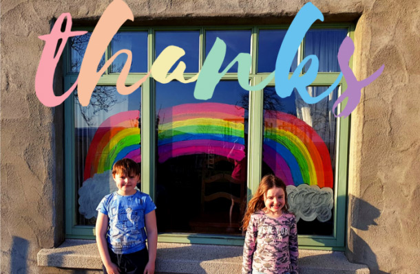 Lisburn & Castlereagh Symbol of Citizen Hope Campaign - Join the Rainbow Trail