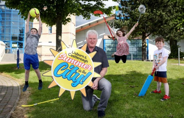 Children get set for a Summer of Activities across Lisburn & Castlereagh