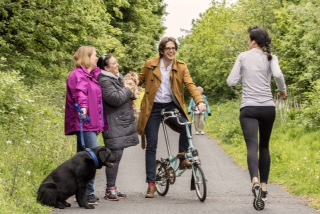 One Path, Many Users: Charity Initiative to Share and Enjoy our Greenways