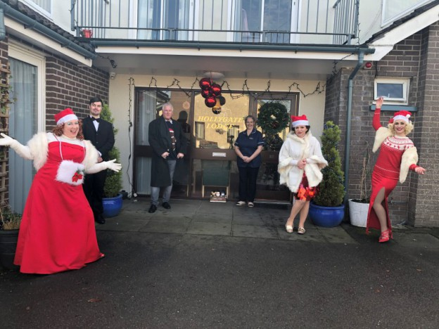 The Broads Christmas Show visits 16 care homes