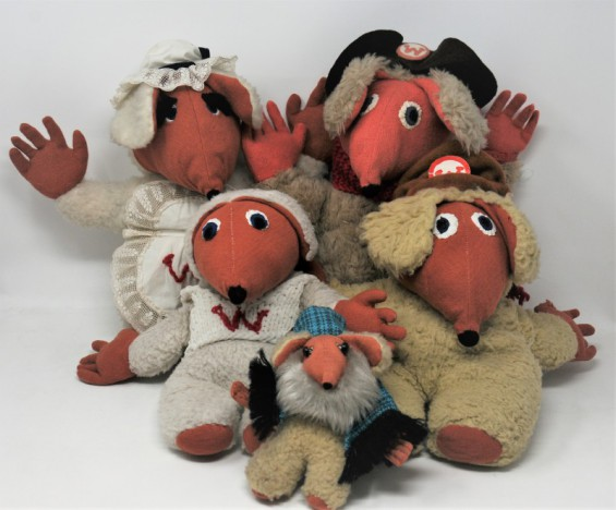 The Wombles have arrived at Lisburn Museum