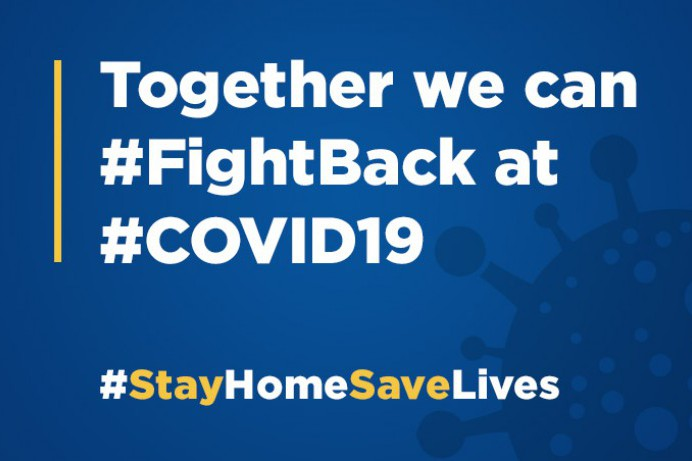 Find out how you can help #FightBack at #COVID19