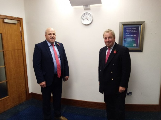 Council meets with Northern Ireland's first Veterans' Commissioner