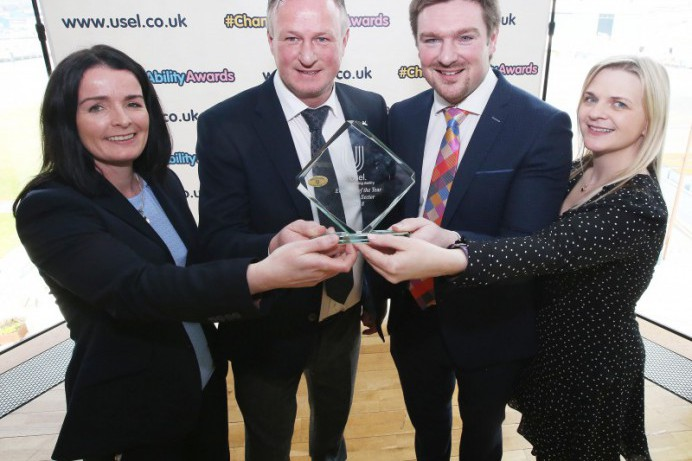 Council Delighted to Win Usel Employer of the Year Award
