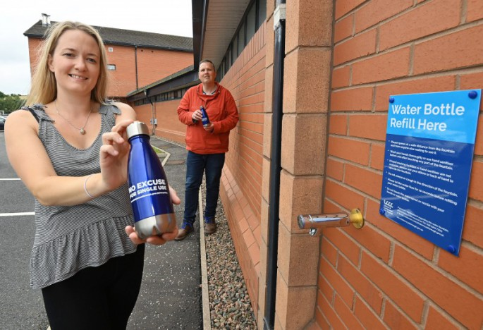 Water Refill Station installed at Billy Neill MBE Country Park