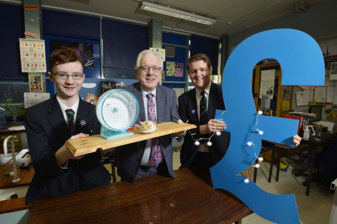 Lisburn & Castlereagh City Council support Fort Hill College innovators of the future at BT Young Scientist Exhibition