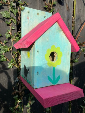 Enhance your garden's biodiversity with a free bird box