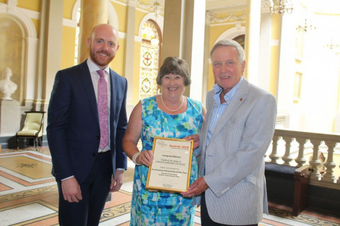 Former Mayor recognised for Fundraising Efforts