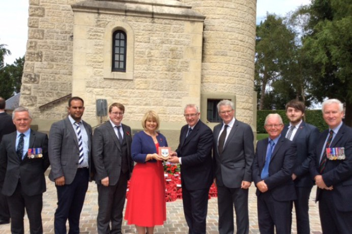 Lisburn & Castlereagh Visit to the Somme and world War I Memorials