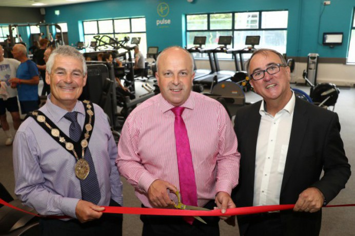 New Fitness Suite officially opens at Lough Moss Leisure Centre