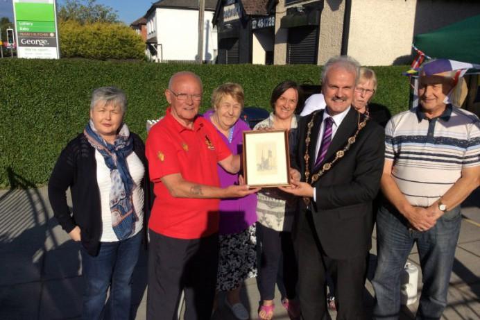 Mayor Visits Dundonald Credit Union