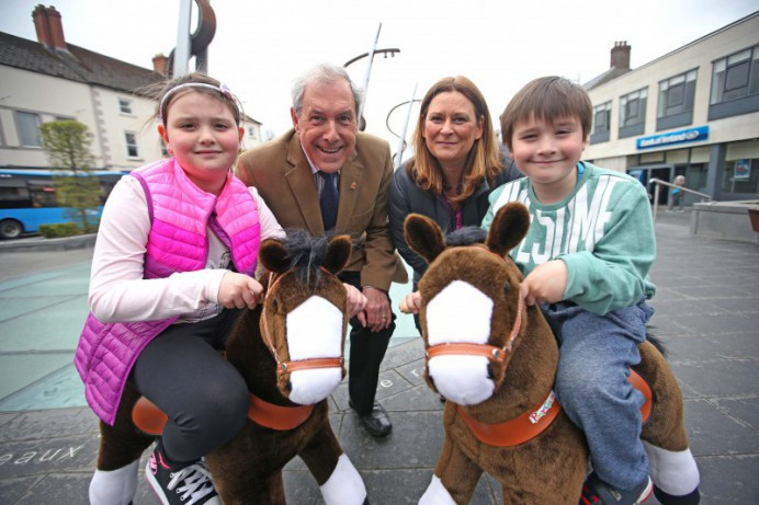 Lisburn City Centre welcomes 'Kiddie Countdown to Balmoral Show'