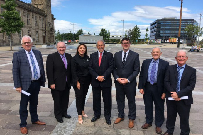 Council Delegation Meet with Counterparts in Sunderland